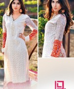 Dawood Textiles Liali Embroidered Lawn Dresses 2014 Volume 2 For Women 009