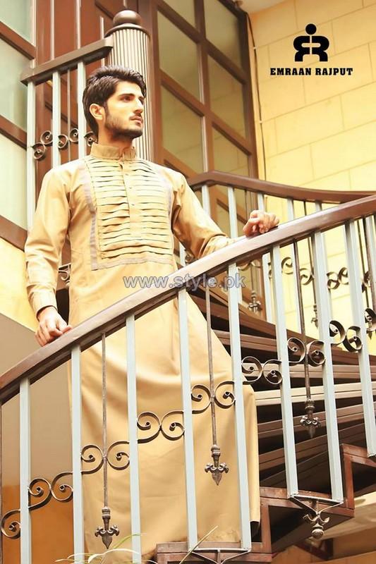 Emraan Rajput Kandooras Collection 2014 For Men 1
