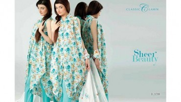 Five Star Textiles Classic Lawn Dresses 2014 Volume 2 For Women
