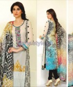 Ghani Textile Embroidered Lawn 2014 For Summer 4