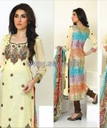 Ghani Textile Embroidered Lawn 2014 For Women 9