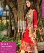 Gul Ahmed Chiffon Dresses 2014 For Summer 1