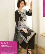 Gul Ahmed Chiffon Dresses 2014 For Summer 2