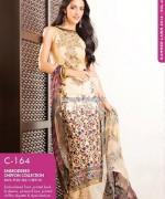 Gul Ahmed Chiffon Dresses 2014 For Summer 3
