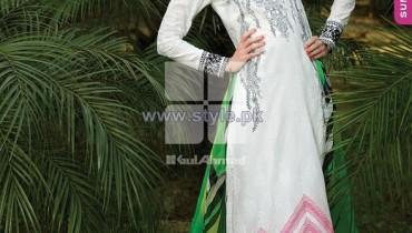 Gul Ahmed Chiffon Dresses 2014 Volume 2 8