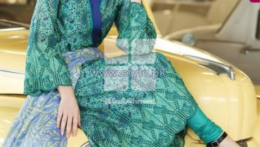 Gul Ahmed Prima Lawn Dresses 2014 For Women 12