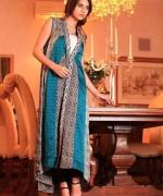 Gul Ahmed Semi-formal Wear Dresses 2014 for Women004