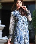 Gul Ahmed Semi-formal Wear Dresses 2014 for Women009