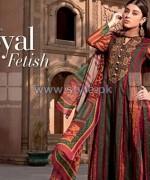Gul Ahmed Silk Dresses 2014 For Summer 2