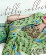 Gul Ahmed Silk Dresses 2014 For Summer 3