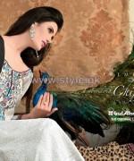 Gul Ahmed Silk Dresses 2014 For Summer 6