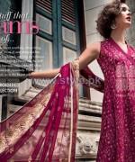 Gul Ahmed Silk Dresses 2014 For Women 9