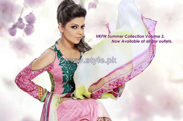 Hadiqa Kiani Summer Dresses 2014 For Women 3