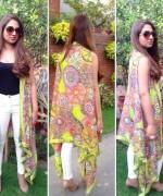 Heena Ayub Summer Dresses 2014 For Women 005