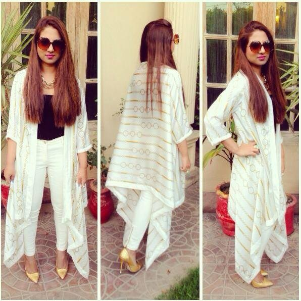 Heena Ayub Summer Dresses 2014 For Women 008