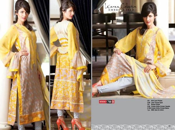 Jubilee Cloth Mills Summer Dresses 2014 Volume 2 For Women 005
