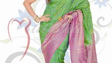 Mansha Sarees Collection 2014 For Women 001