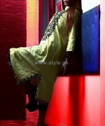 Najia Malik Summer Dresses 2014 For Girls 2