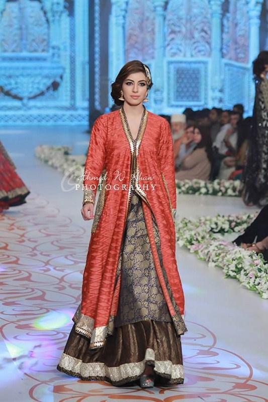 fashion shows nida azwer collection pantene bridal couture week