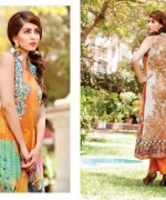 Rashid Textiles Monarca Lawn Dresses 2014 Volume 3 For Women 004