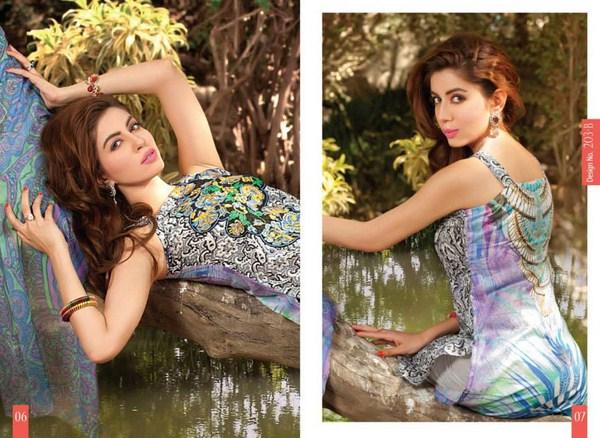 Rashid Textiles Monarca Lawn Dresses 2014 Volume 3 For Women 007