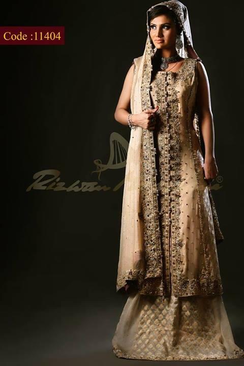 Rizwan Moazzam Bridal Wear Dresses 2014 for Women