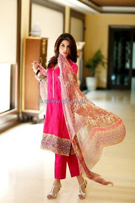 Sana Salman Eid Dresses 2014 For Girls 4