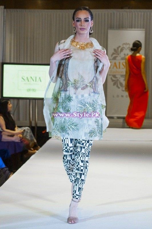 Sania Maskatiya showcase in London at Faisana Fashion Weekend 008
