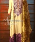 Sanober Azfar Summer Dresses 2014 For Girls 3