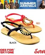 Servis Summer Foot Wears 2014 For Girls 1