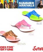 Servis Summer Foot Wears 2014 For Girls 2