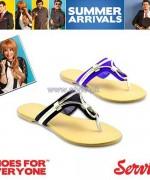 Servis Summer Foot Wears 2014 For Girls 3