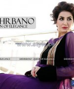 Shehrbano Party Wear Dresses 2014 For Summer 6
