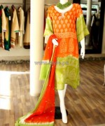 Shirin Hassan Casual and Party Dresses 2014 For Summer 10