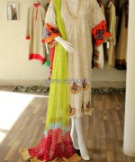 Shirin Hassan Casual and Party Dresses 2014 For Summer 7