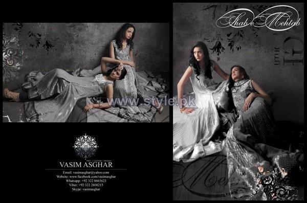 Vasim Asghar Shab-e-Mehtab Collection 2014 For Women 7
