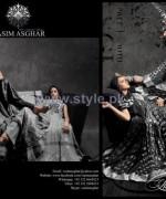 Vasim Asghar Shab-e-Mehtab Collection 2014 For Women 8