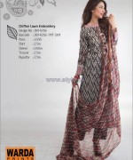 Warda Designer Lawn Dresses 2014 Volume 2 12
