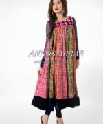 Annus Abrar Girls Dresses 2014 For Eid 1