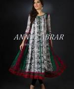 Annus Abrar Girls Dresses 2014 For Eid 2