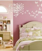 Best Ideas To Decorate Girls Room With Butterflies 0011