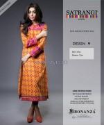 Bonanza Satrangi Eid Dresses 2014 For Girls 1