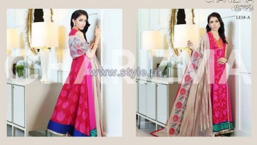 Charizma Embroidered Eid Dresses 2014 For Women 1