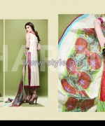 Charizma Embroidered Eid Dresses 2014 For Women 2