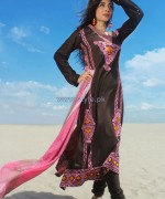 Dicha Embroidered Lawn Dresses 2014 For Eid 4