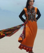 Dicha Embroidered Lawn Dresses 2014 For Eid-Ul-Fitr 12