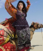 Dicha Embroidered Lawn Dresses 2014 For Eid-Ul-Fitr 13