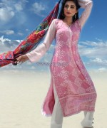 Dicha Embroidered Lawn Dresses 2014 For Eid-Ul-Fitr 9