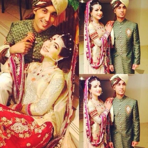 Dua Malik Mehndi And Wedding Pictures