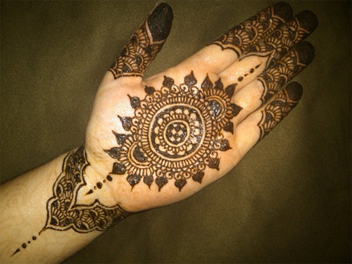 Mehndi Designs For Engagement : Engagement mehndi designs for women